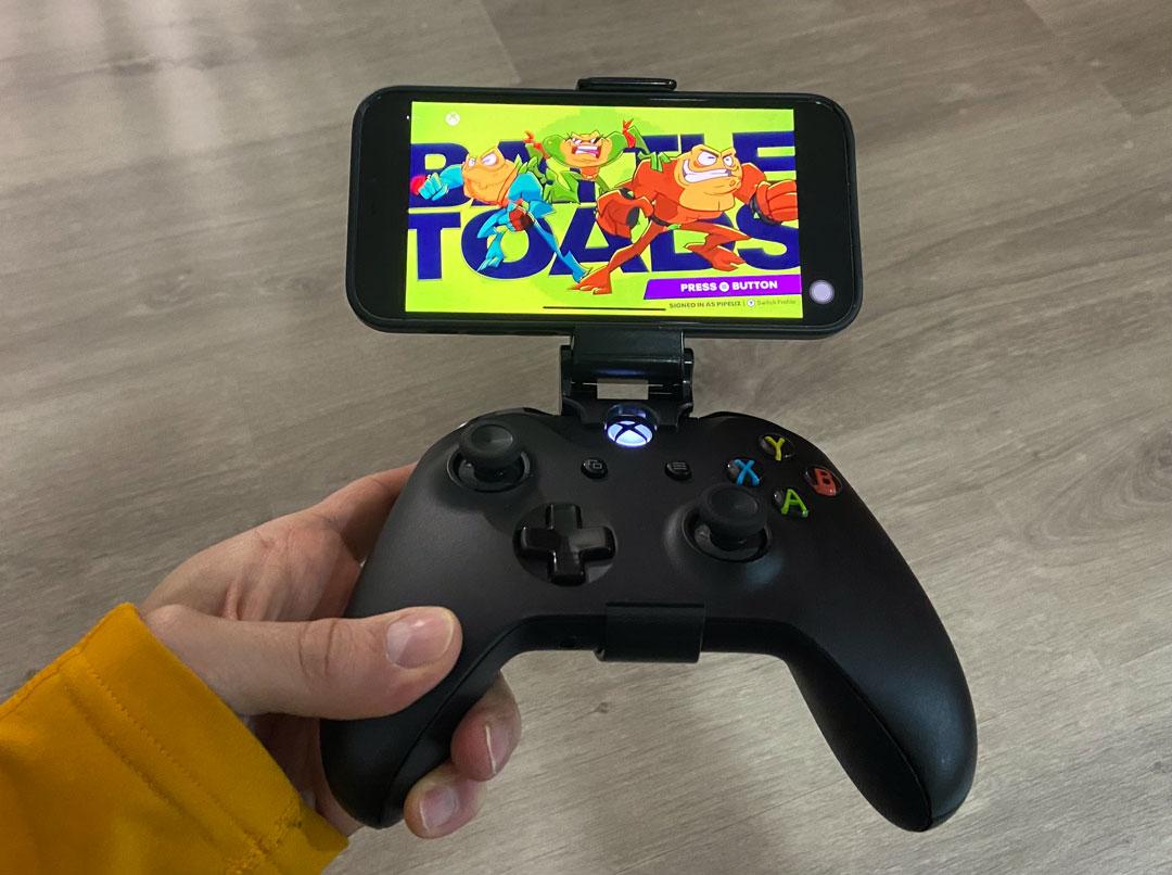 Xbox Cloud Gaming Beta corriendo en el iPhone 12 Pro