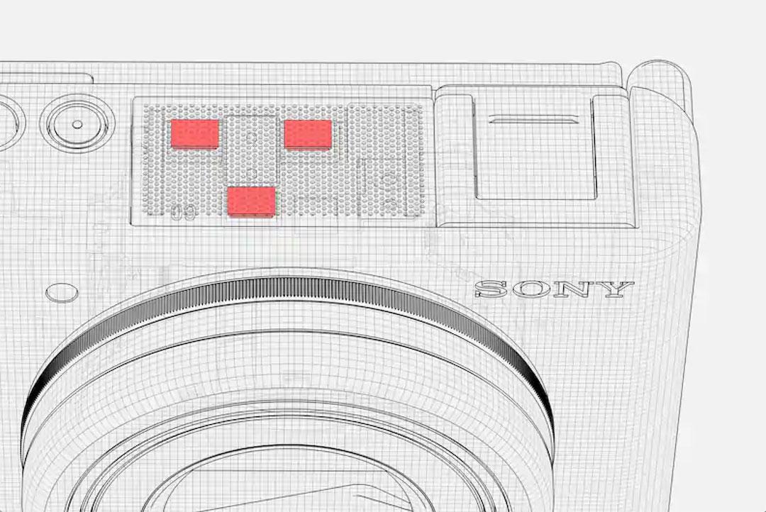 El micrófono de 3 cápsulas de la Sony ZV-1