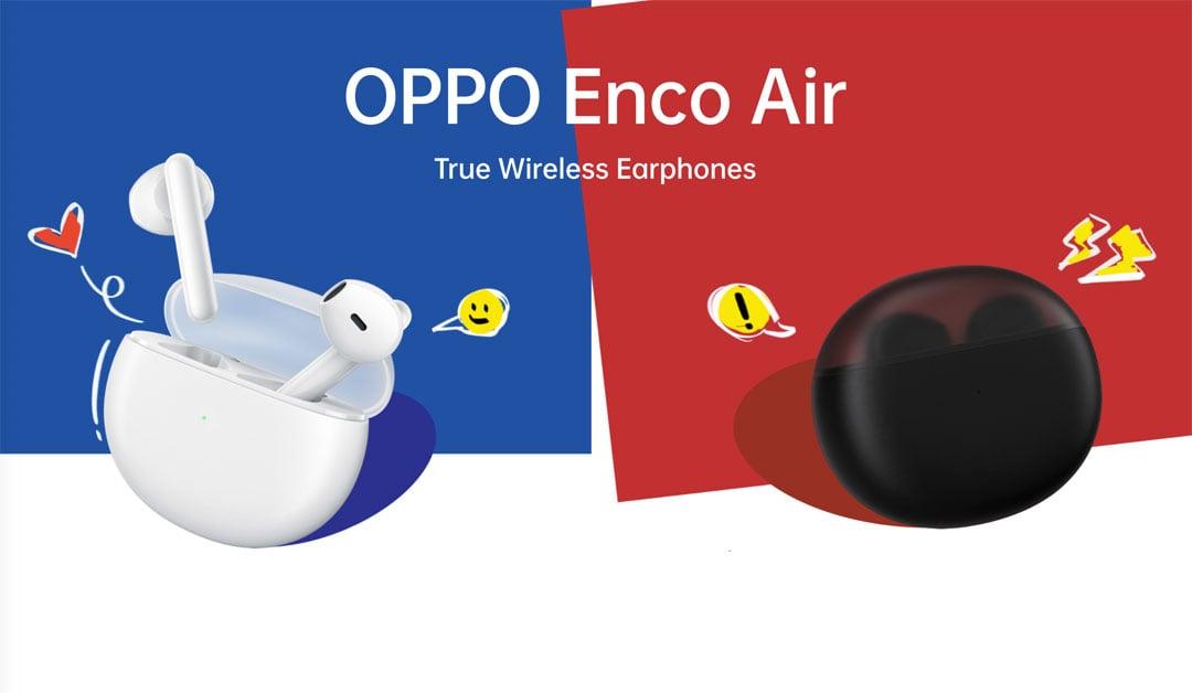 Colores de los Oppo Enco air