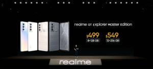 El precio del Realme GT Explorer Master Edition
