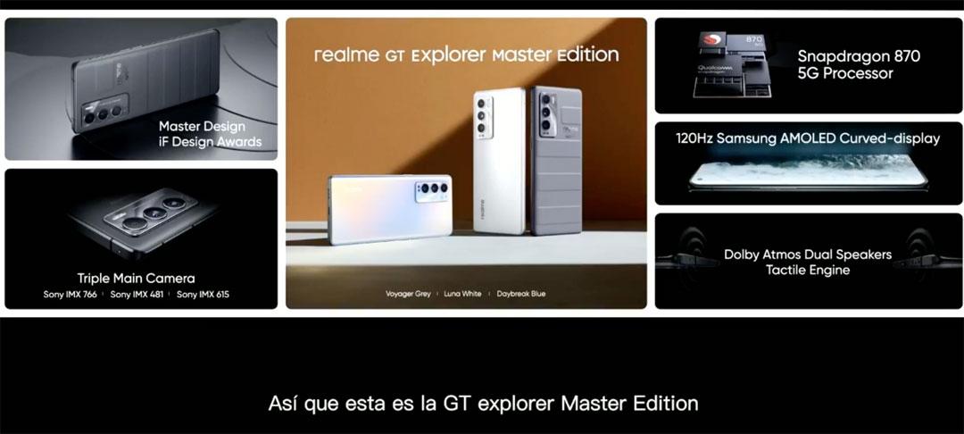 El resumen de Realme GT Explorer Master Edition