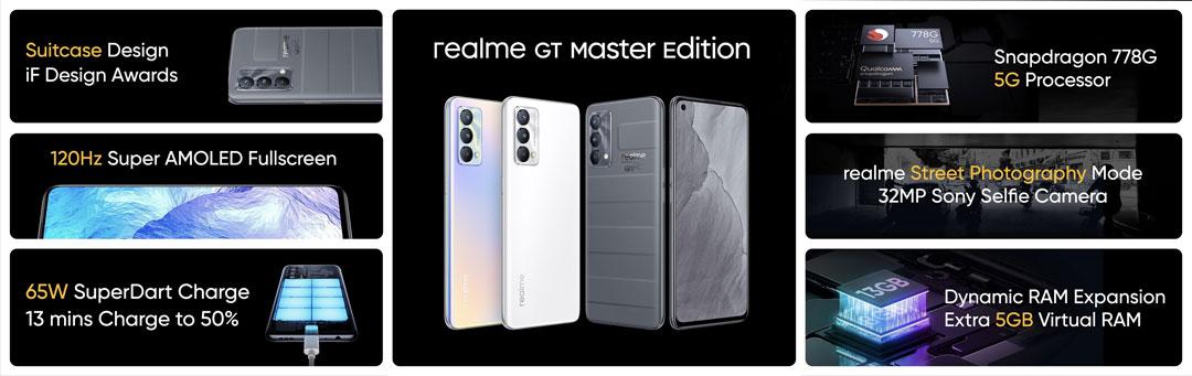 El resumen de Realme GT Master Edition