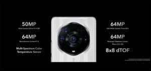 El sistema de cámaras posteriores del Honor Magic3 Pro+
