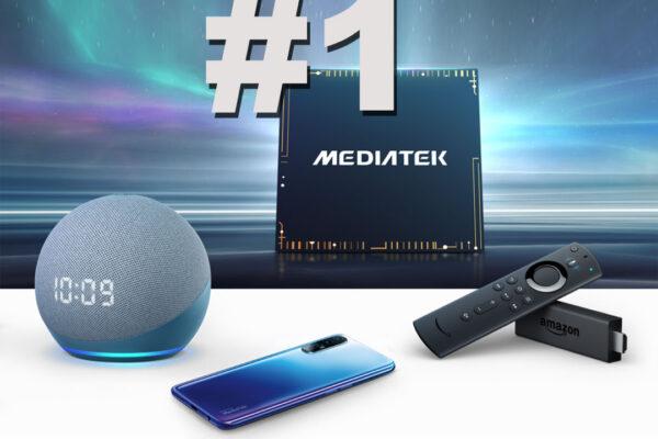 MediaTek es el número 1
