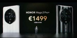Precios de Honor Magic3 Pro+