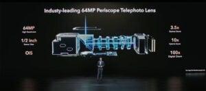 Telefoto Honor Magic3 Pro