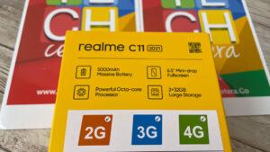 realme C11 con conectividad 2G, 3G y 4G