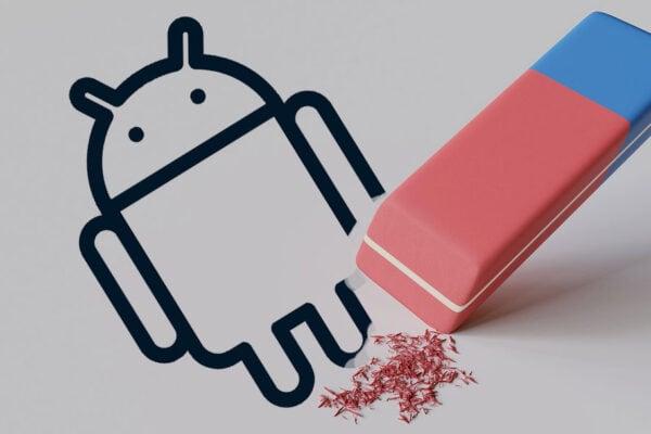 Borrado Android