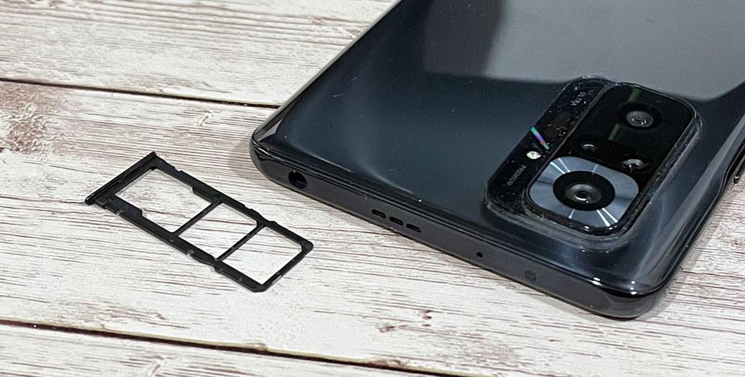 Doble SIM y memoria microSD ene l Redmi Note 10 Pro