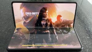 Galaxy Z Fold 3 en Call of Duty Mobile