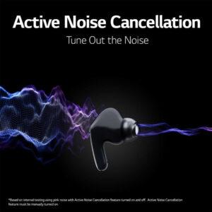 Cancelación activa de ruido en los LG Tone Free