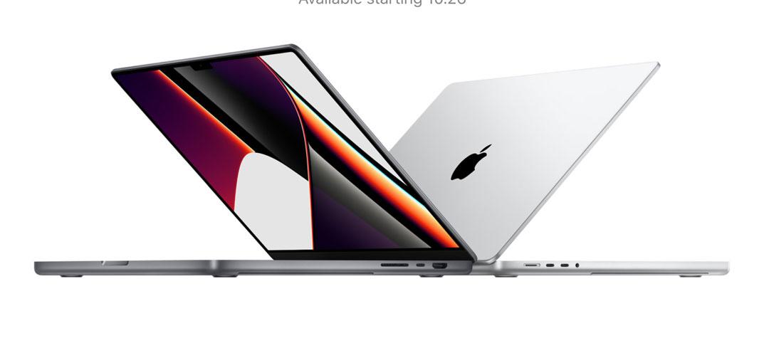 MacBook Pro recargados con procesadores M1 Pro y M1 Max