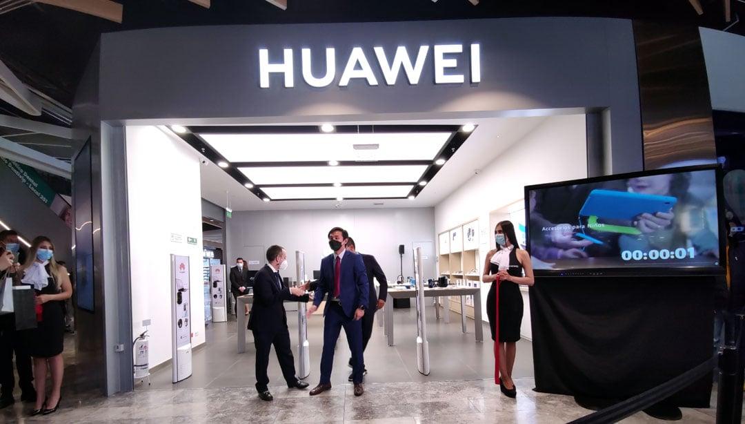 Nueva tienda Huawei
