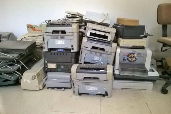 impresoras a la basura